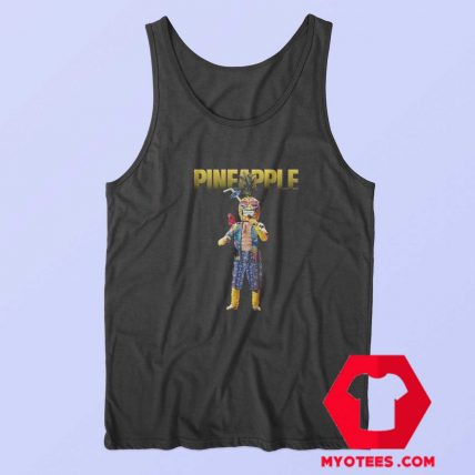 Pineapple Masked Singing Contest Tv Show Tank Top