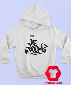 Retro Vintage MF Doom Hip Hop Gangster Hoodie