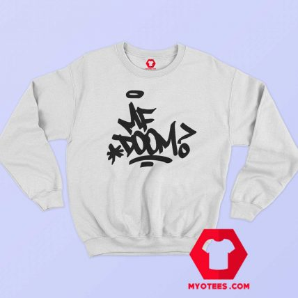 Retro Vintage MF Doom Hip Hop Gangster Sweatshirt