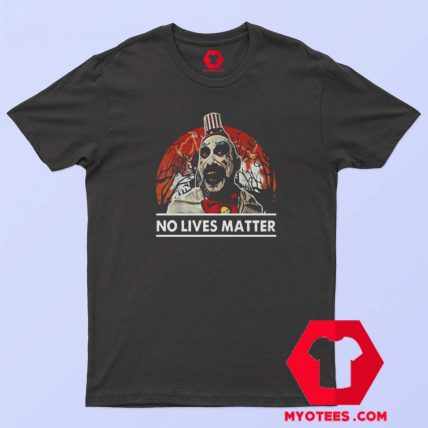 Spaulding No Lives Matter Funny Halloween T Shirt
