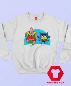 SpongeBob Patrick Parody Batman Robin Sweatshirt