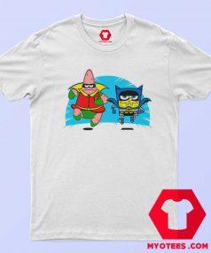 SpongeBob Patrick Parody Batman Robin T Shirt