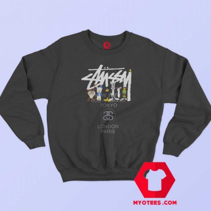 Stussy x Looney Tunes World Tour Unisex Sweatshirt
