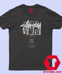 Stussy x Looney Tunes World Tour Unisex T Shirt