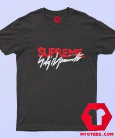 Supreme x Yohji Yamamoto Official Logo T Shirt