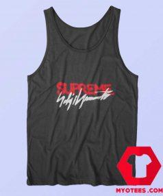 Supreme x Yohji Yamamoto Official Logo Tank Top