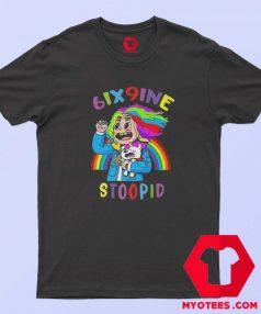 Tekashi 6ix9ine Rainbow Stoopid Rap Music T Shirt