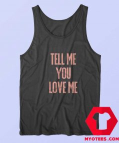 Tell Me You Love Me Demi Lovato Vintage Tank Top