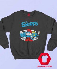 The Smurfs TV Series Animated Poster Sweatshirt