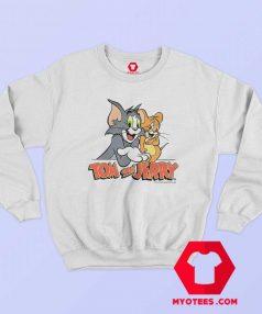 Tom and Jerry 90s Cartoon Vintage Retro Sweatshirt