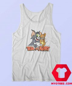 Tom and Jerry 90s Cartoon Vintage Retro Tank Top
