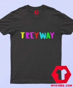 TreyWay Stoopid 6IX9INE NYC Rainbow T Shirt