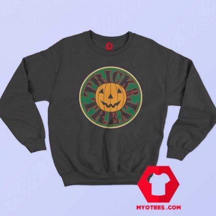 Trick or Treat Jack O Lantern Happy Haloween Sweatshirt