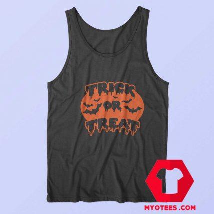 Trick or Treat Tanktop Pumpkin Halloween Tank Top