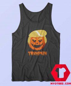 Trumpkin Halloween Funny Donald Trump Tank Top