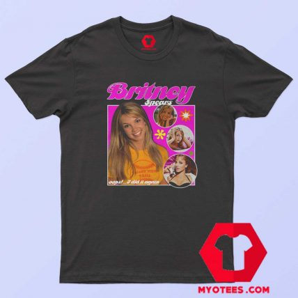 Vintage 90s Britney Spears I Did It It Again T Shirt