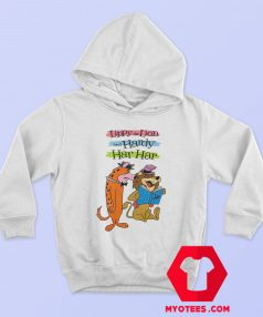 Vintage Cartoon Lippy The Lion Hardy Har Hoodie