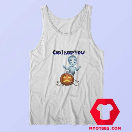 Vintage Casper The Friendly Ghost Halloween Tank Top