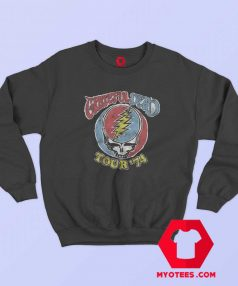 Vintage Grateful Dead Tour 74 Unisex Sweatshirt