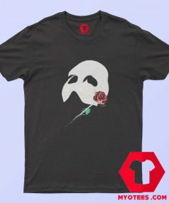 Vintage Phantom Red Rose Opera Mask T Shirt