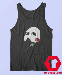 Vintage Phantom Red Rose Opera Mask Tank Top