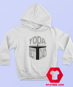 Yoda Best Dad Christmas Day Is Coming Hoodie