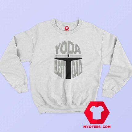 Yoda Best Dad Christmas Day Is Coming Sweatshirt
