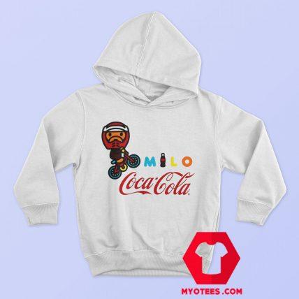 A Bathing Ape X Coca Cola Milo BMX Hoodie