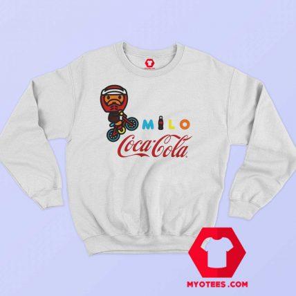 A Bathing Ape X Coca Cola Milo BMX Sweatshirt