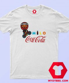 A Bathing Ape X Coca Cola Milo BMX T Shirt