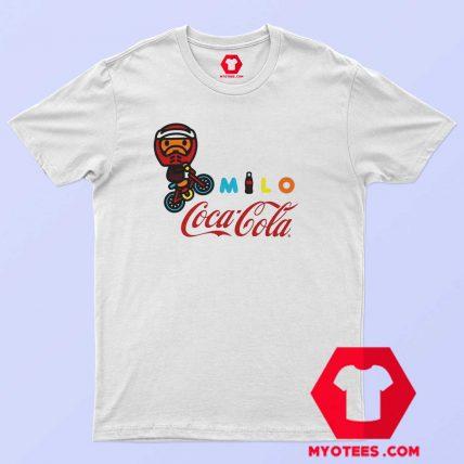 A Bathing Ape X Coca Cola Milo BMX T Shirt
