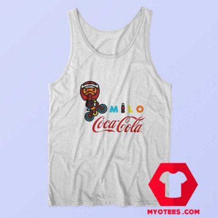 A Bathing Ape X Coca Cola Milo BMX Tank Top