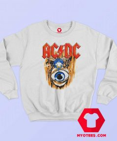 ACDC Fly on the Wall Album Cover Sweatshirt
