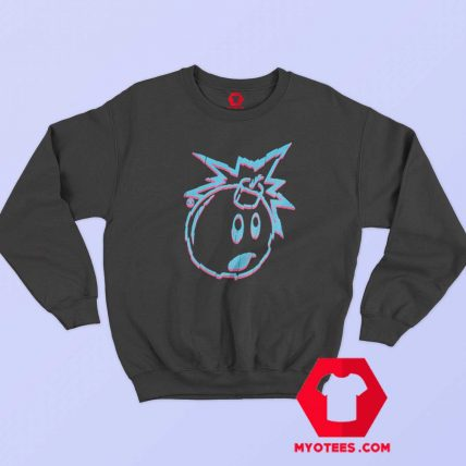 Adam The Bomb Camo and Shatterd Sweatshirt