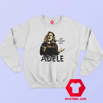 Adele Concert 2017 Tour The Finale Music Sweatshirt