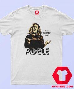 Adele Concert 2017 Tour The Finale Music T Shirt