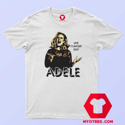 Adele Concert 2017 Tour The Finale Music T Shirt