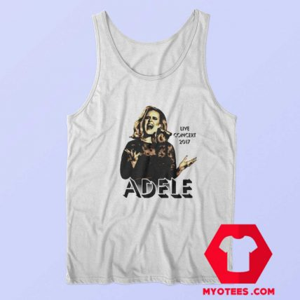 Adele Concert 2017 Tour The Finale Music Tank Top