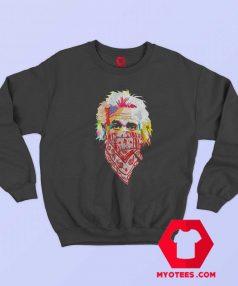 Albert Einstein Bandana Unisex Sweatshirt