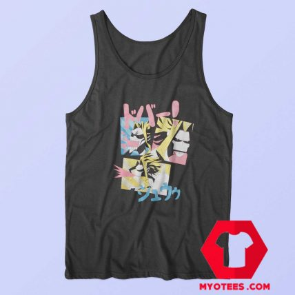 All Might Blood My Hero Academia Tank Top