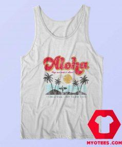 Aloha Keep Our Oceans Clean Unisex Tank Top