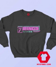 Ariana Grande 7 Rings Pink Logo Japan Sweatshirt