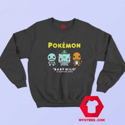 Bape x Pokemon Coloured Starter Sweatshirt