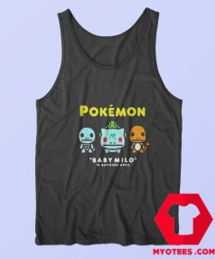 Bape x Pokemon Coloured Starter Tank Top