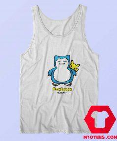 Bape x Pokemon Snorlax Funny Tank Top