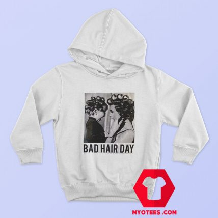Be Famous Women Badha Rolled Bad Hair Day Hoodie