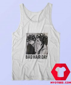 Be Famous Women Badha Rolled Bad Hair Day Tank Top