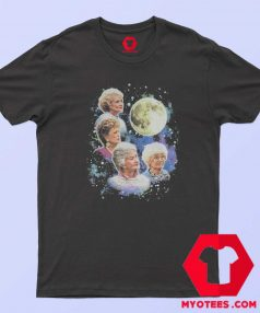 Bioworld The Four Golden Girls Moon T Shirt