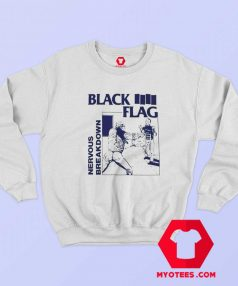 Black Flag Nervous Breakdown Rock Band Sweatshirt