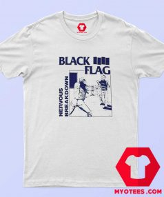 Black Flag Nervous Breakdown Rock Band T Shirt